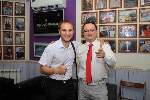 Артем Черепанов и Влад Челпаченко4s