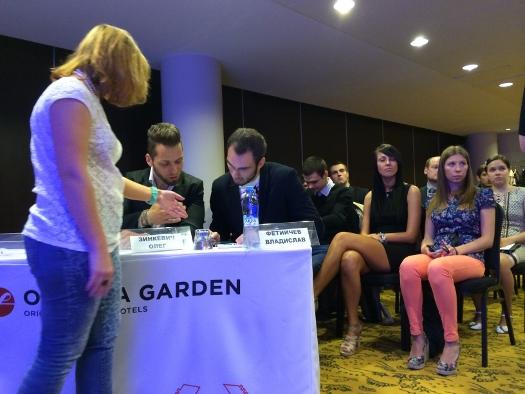 Жюри конкурса бизнес-проектов стартапов